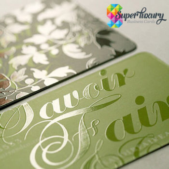 Rounded Corner Spot UV Gloss Business Cards