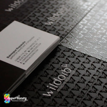 Spot UV Gloss Business Cards