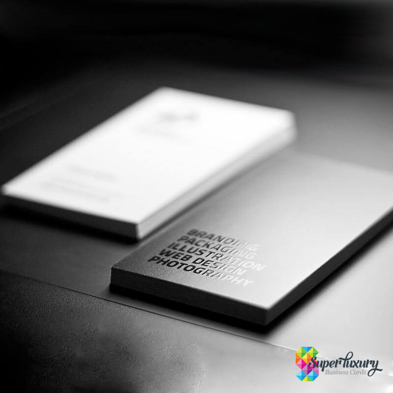 Spot Uv Gloss Business Cards Super Luxury Business Cards
