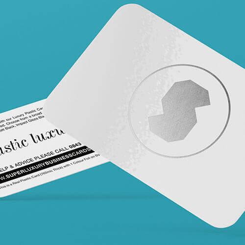luxury plastic business cards