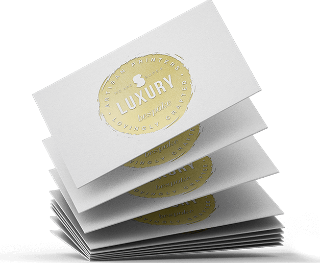 foil debossed business cards 1200gsm