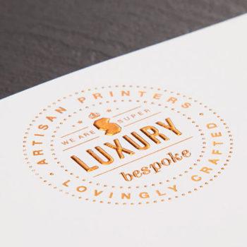 foil embossed letterhead printing