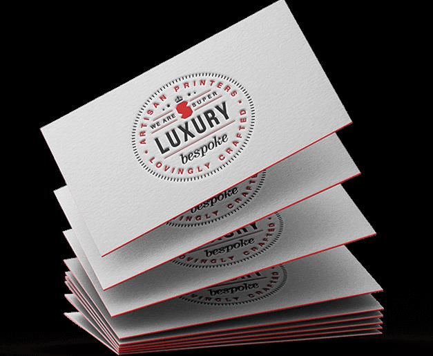 letterpress business cards  super luxury business cards
