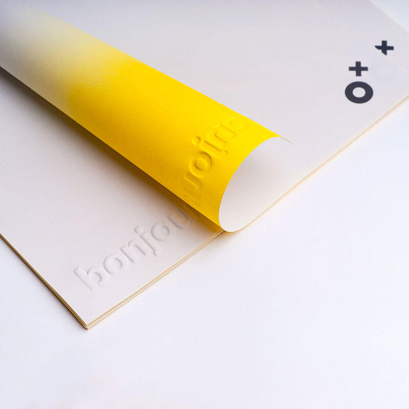image about Embossed Stationery referred to as Luxurious EMBOSSED Letterhead Compliment Slip Printing