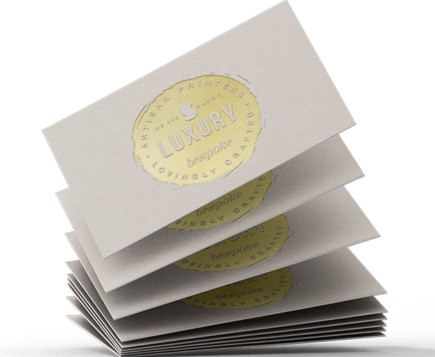luxury wood pulp business cards