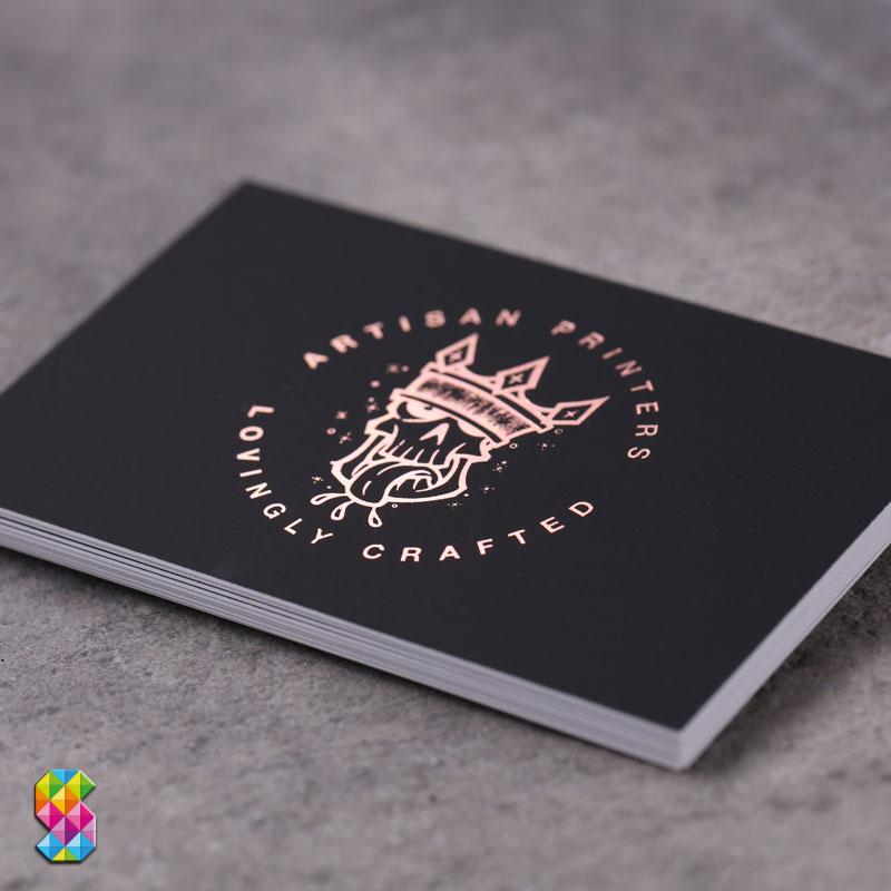 Rose Gold Foil Business Cards Www Superluxurybusinesscards Co Uk