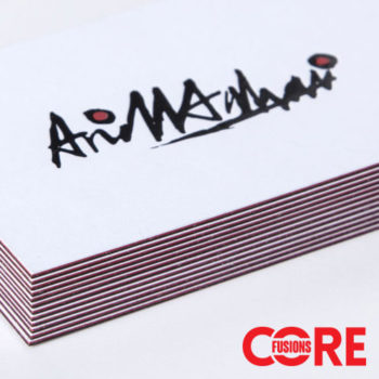 core fusions triplex business cards