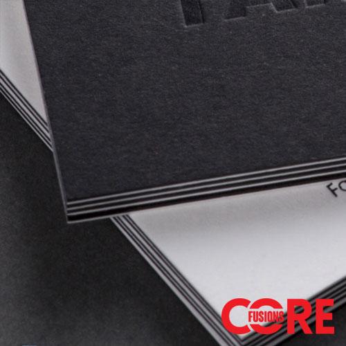 core fusions triplex business cards