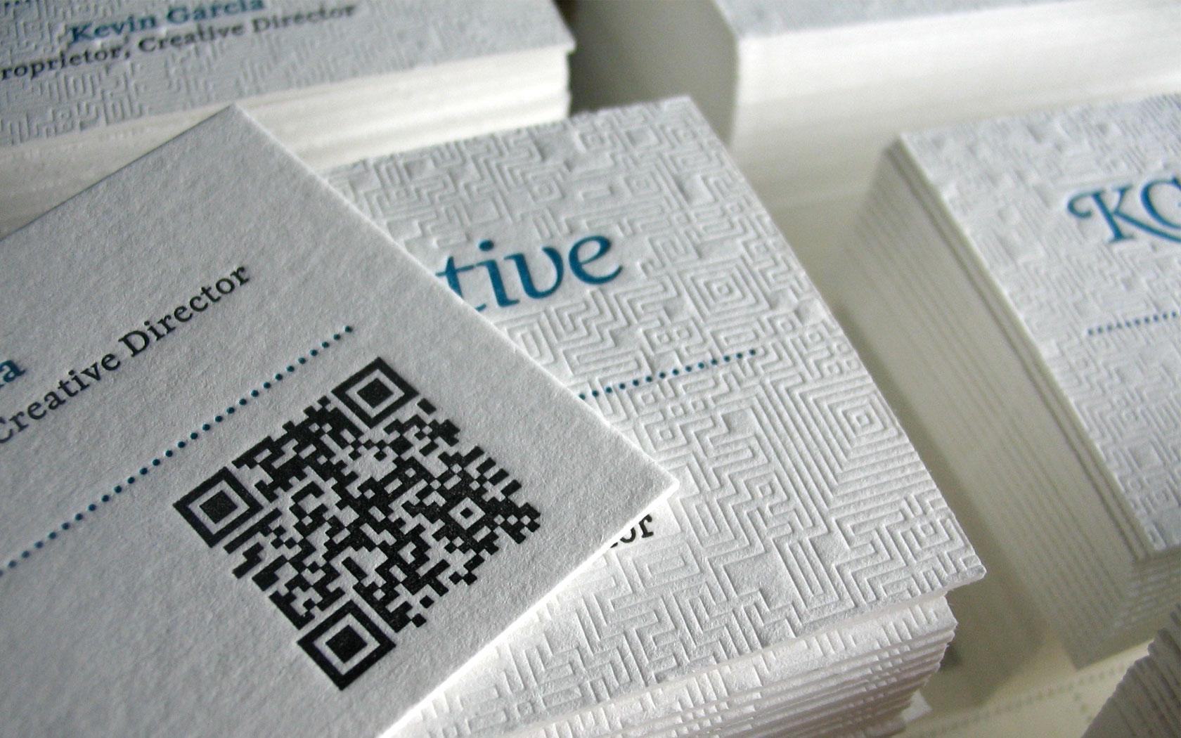 letterpress business card printer