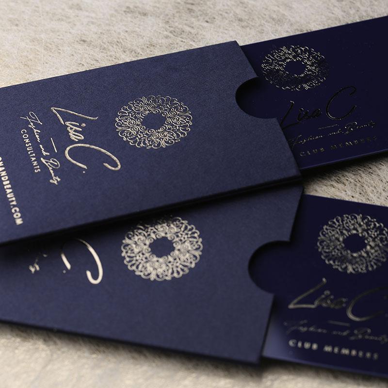 luxury plastic business cards printing