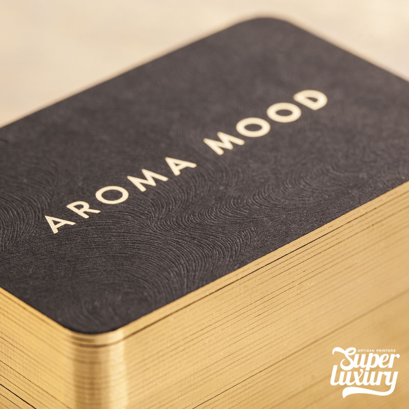 luxury textured business cards