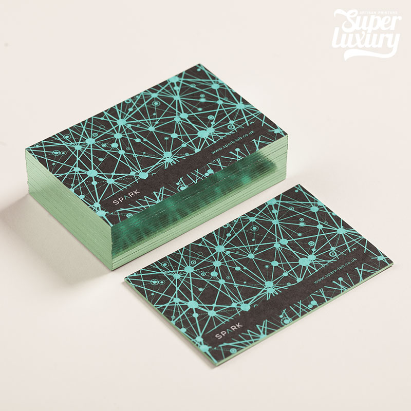 Coloured Edge Business Cards