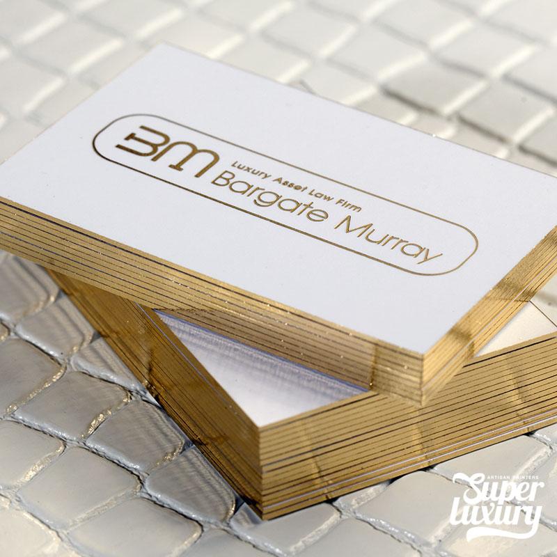 Gold Foil Business Card Printers