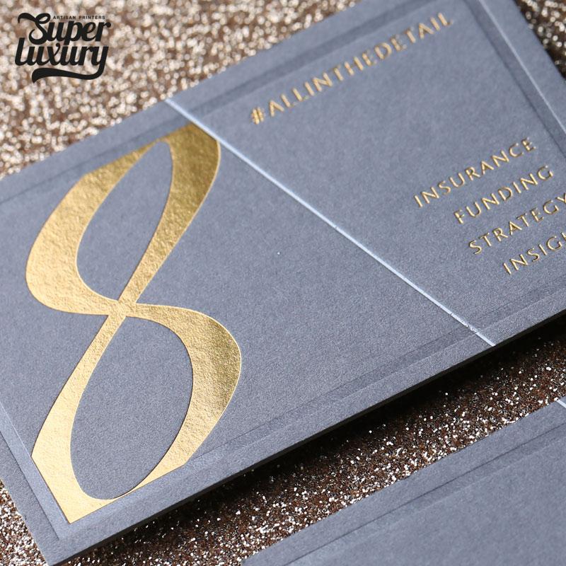 Luxury Colorplan Grey Business Card Print