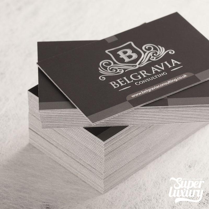 Triplex Business Card Print - Core Fusions